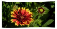 Gaillardia Bath Towel