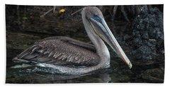 Galapagos Pelican Bath Towel