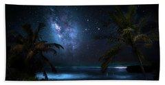 Galaxy Beach Bath Towel by Mark Andrew Thomas