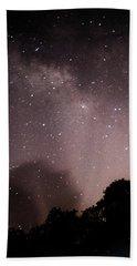 Galaxy Beams Me Hand Towel by Carolina Liechtenstein
