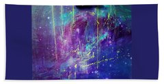 Galaxy In Motion Hand Towel