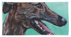 Galgo Espanol Spanish Greyhound Hand Towel