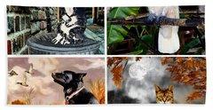 Animals And Wildlife Bath Towel