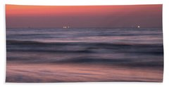 Bath Towel featuring the photograph Galveston Morning by James Woody