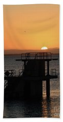 Galway Bay Sunrise Hand Towel