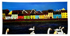 Galway Swans Hand Towel