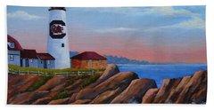 Gamecock Lighthouse Hand Towel