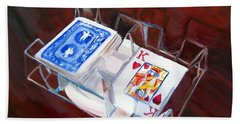 Games #1 Card Games Bath Towel
