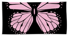 Gamma Phi Delta Classy Butterfly  Bath Towel
