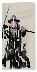 Gandalf - The Lord Of The Rings Bath Towel