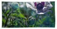 Garden Beauty Bath Towel