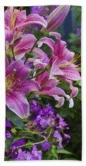 Garden Color Bath Towel by Ron Grafe