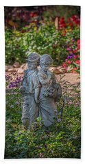 Garden Lovers Hand Towel by David Cote