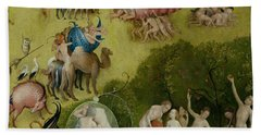 Garden Of Earthly Delights   Detail Bath Towel
