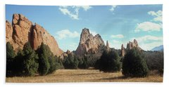 Garden Of The Gods Hand Towel