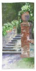 Garden Steps Hand Towel