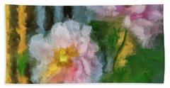 Bath Towel featuring the digital art Garden Variety by Lois Bryan