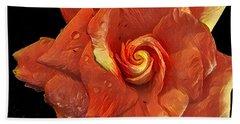 Gardenia For Madam Pele Hand Towel
