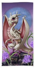 Hand Towel featuring the digital art Garlic Dragon by Stanley Morrison