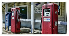 Gas And Mail 1 Hand Towel by Paul Ward