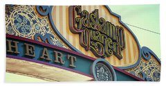 Gaslamp Close Up Bath Towel