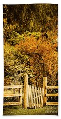 Gates In Fall Hand Towel