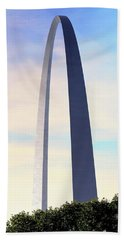 Gateway Arch - St Louis Hand Towel by Rau Imaging
