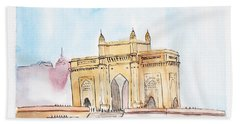 Gateway Of India Hand Towel