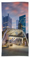 Gateway Station At Pittsburgh  Bath Towel