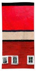 Bath Towel featuring the digital art Gateways And Portals No. 2 by Serge Averbukh