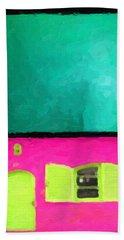 Bath Towel featuring the digital art Gateways And Portals No. 4 by Serge Averbukh