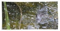 Gator Coming Bath Towel