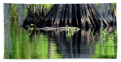 Hand Towel featuring the photograph Wild Florida by Carol Bradley