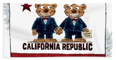 Gay Marriage In California Bath Towel