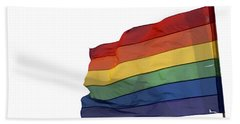 Gay Rainbow Flag  Hand Towel