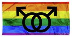 Gay Symbols Hand Towel
