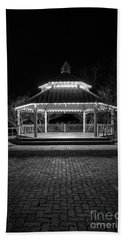 Gazebo In Bw Bath Towel