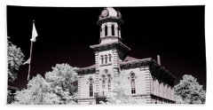 Geauga County Courthouse Chardon Ohio Hand Towel