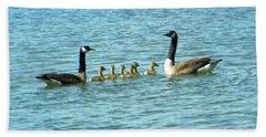 Geese Proud Parents Bath Towel