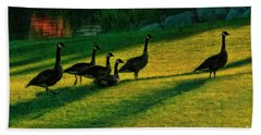 Geese The Perfect Pattern Bath Towel