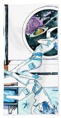 Gemini Journey Pollux Pleads Bath Towel by D Renee Wilson