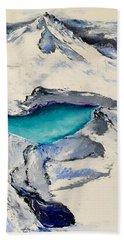 Gemstone Lake Hand Towel