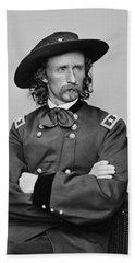 General George Armstrong Custer Bath Towel