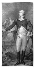 General George Washington At Trenton Bath Towel