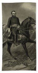 General Grant On Horseback  Bath Towel