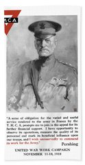 General Pershing - United War Works Campaign Hand Towel