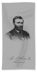 General Ulysses Grant And His Signature Bath Towel