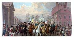 General Washington Enters New York Hand Towel
