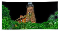 Genesee Lighthouse Hand Towel by William Norton