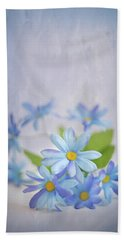 Gentle Blues Hand Towel